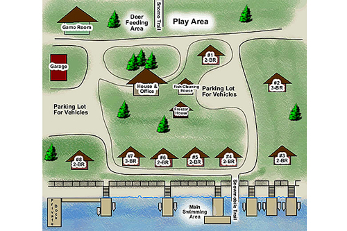 Map of Resort Grounds