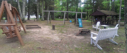 Picnic, Campfire & Play Area