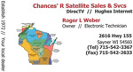 CHANCES 'R SATELLITE