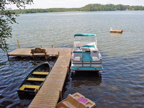Dock Area & Lake