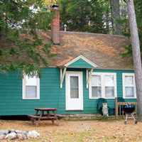 Cottage #9 at Leisure Lodge Resort
