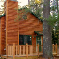 Cottage #5 at Leisure Lodge Resort