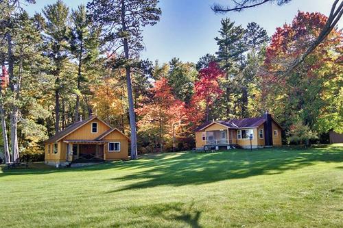 Fall at the Resort