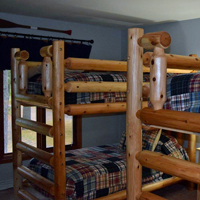 Main house - bunk room (4 beds)