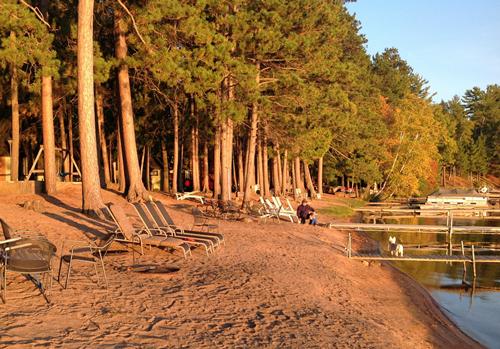 Woodlands Resort on Plum Lake