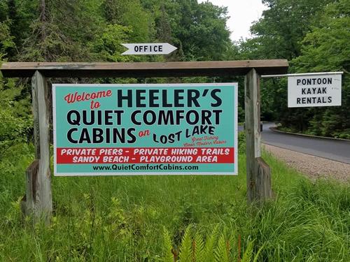 Heeler's Quiet Comfort Cabins