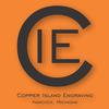 Copper Island Engraving