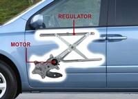 Window Regulator Motor Replacement