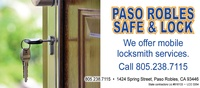 Paso Robles Safe & Lock