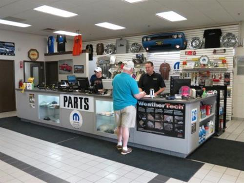 BERNARD'S Parts Counter, get your MOPAR parts here!