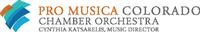Pro Musica Colorado Chamber Orchestra