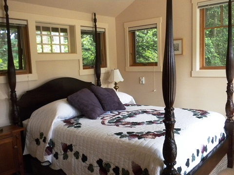 Bedroom at Madrona Meadows