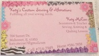 Katy's Custom Sewing & Alterations