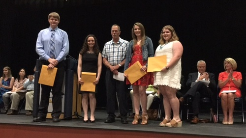 2017 Scholarship Award Winners at MSHS