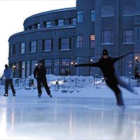 Seasonal Skating Rink