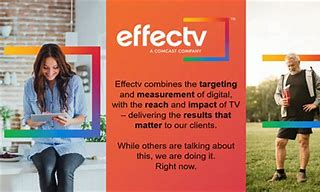 Effectv combines the targeting and measurement of digital with the reach and impact of TV – delivering the results that matter to our clients. While others are talking about this, we are doing it.