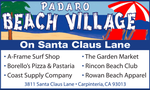 Padaro Beach Village on Santa Claus Lane