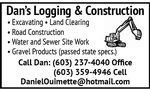 Dan's Logging, Construction & Gravel Products