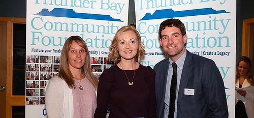 Nov. 28, Received $5000 from Thunder Bay Community Foundation General Fund Grant