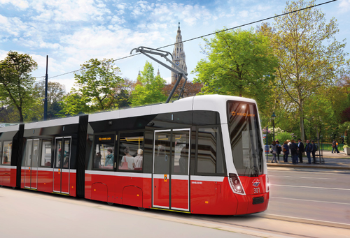 Tram - Vienna, Austria