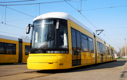 Tram - Berlin, Germany