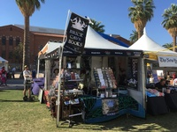 This is us, at Tucson Festival of Books