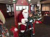 Festival of Trees - Visit with Santa
