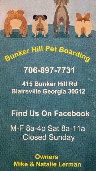 Bunker Hill Pet Boarding
