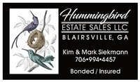 Hummingbird Estate Sales, LLC