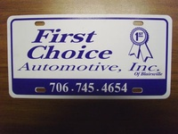 First Choice Automotive of Blairsville Inc.