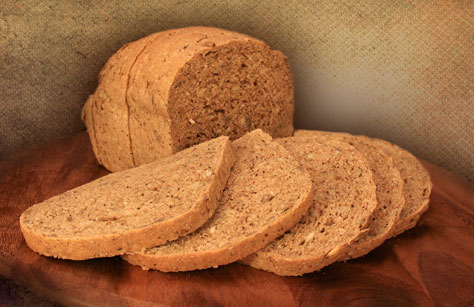 Hand-made, whole-grain breads with no preservatives.