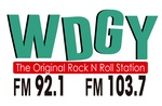 WDGY '' The Original Rock N Roll Station''.