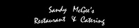 Sandy McGee's Restaurant & Catering