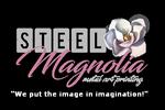Steel Magnolia Metal Art Printing