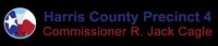 Harris County Commissioner Cagle Precinct 4