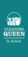 Cleaning Queen In Action