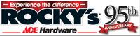 Rocky's Ace Hardware formally Clarke's Hardware