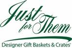 Just for Them Designer Gift Basket & Crates