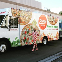 Zume Pizza Mobile Oven/Delivery Vehicle