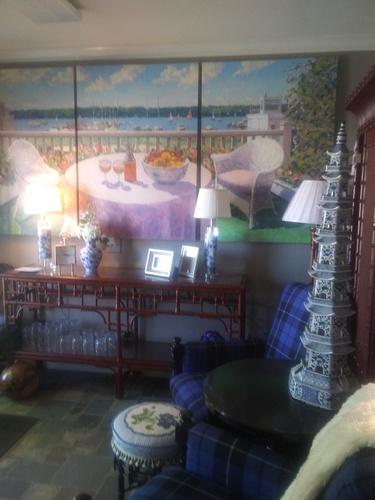 Cottage Interiors design room