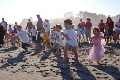 Seabrook Event - Fun Run on the beach