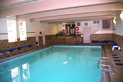 Chateau Westport Indoor Heated pool and Hot Tub