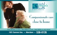 Billboard for Coastal Women's Health