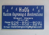 H2O's Custom Engraving & Restorations