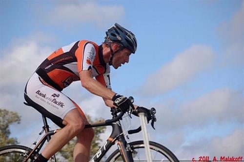 Shuksan Velo Club bike racer