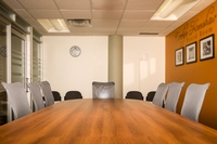 Host your next meeting in their beautiful board room! Contact the Library for further information.