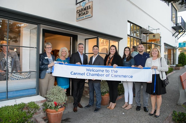 Carmel Road Ribbon Cutting 2015