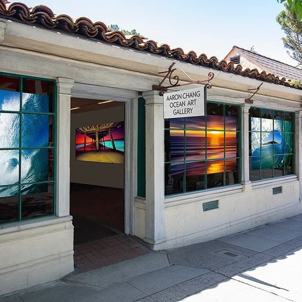 Aaron Chang Gallery on Ocean Avenue, between Dolores & Lincoln