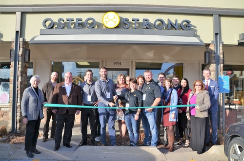 Ribbon Cutting for Osteostrong