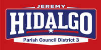 Jeremy Hidalgo, Candidate for Lafayette Parish Council, District 3